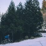 雪が降ったら自転車乗りに